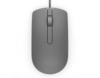 Dell Mouse MS116 3 buttons, wired, 1000 dpi, USB conectivity, Color: Grey