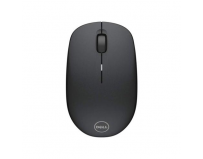 Dell Mouse WM126 Wireless 1000 dpi, 3 buttons, Scrolling wheel, wireless receiver, Color: Black