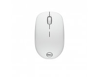 Dell Mouse WM126 Wireless 1000 dpi, 3 buttons, Scrolling wheel, wireless receiver, Color: White