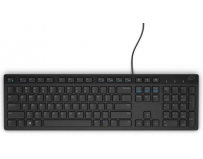 Dell Keyboard Multimedia KB216, wired, US INT layout, USB conectivity ,Color: Black