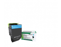 Cartus toner Lexmark 71B20C0, cyan ,return program ,2.3k, CX317DN/417DE, CS317DN/417DN/