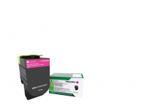 Toner Lexmark 71B20M0, magenta ,return program ,2.3k,CX317DN/417DE, CS317DN/417DN/