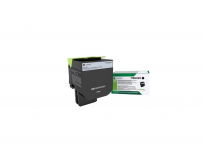Toner Lexmark 71B2XK0, black ,return program ,8k, CX517de,CS517de.