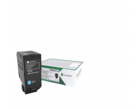 Toner Lexmark 75B20C0, Return Program, cyan, 10 k, CS/CX 727,CS728