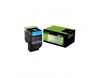 Toner Lexmark 80C20C0, cyan, 1 k, CX310dn , CX310n , CX410de ,CX410de with 3 year Onsite Service , CX410dte