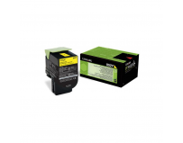 Toner Lexmark 80C20Y0, yellow, 1 k, CX310dn , CX310n , CX410de ,CX410de with 3 year Onsite Service ,