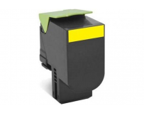 Cartus toner Lexmark 80C2HYE, yellow, 3 k, CX410de , CX410de with 3 year Onsite Service , CX410dte ,