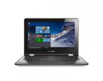 "Laptop Lenovo YOGA 300-11IBR, 11.6"" HD (1366x768) Glare, TN, Touch, Intel Celeron N3060 (1.6GHz, up"