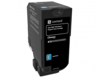 Cartus toner Lexmark 84C2HC0, return program, cyan, 16k ,compatibil cu CX725DE, CX725DHE, CX725DTHE.