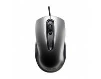 Mouse Asus UT200, Optic, cu fir de 1.5 metri, USB, 1000 DPI, 3 Butoane, scroll, gri, dimensiuni 115x60x35mm,