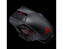 Mouse Asus wireless, optic, ROG Spatha, 8200dpi, USB, Radio Frequency, cablu 2m, negru