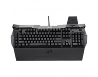 Tastatura ASUS Republic Of Gamers GK2000 Horus, Mecanica, 5 taste dedicate (Key Bindings), Black anodized