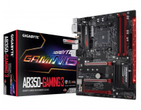 Placa de baza Gigabyte Socket AM4 (AMD RYZEN™ processor), AB350-GAMING 3, 4*DDR4 3200(O.C.)/2933(O.C.)/2667/2400/2133