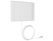 BARKAN INDOOR WALL MOUNTED FLAT ANTENNA, Gain: 5dB, Range: 30-40mi/48- 65km, Frequencies: 47-230MHz,