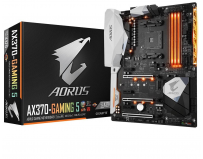 Placa de baza Gigabyte Socket AM4, AX370-GAMING 5, X370, NVMe PCIe Gen3* 4, HDMI, Intel GbE LAN, USB