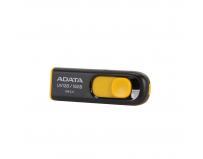 USB Flash Drive ADATA 16GB, UV128, USB3.0, Negru si Galben