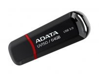 USB Flash Drive ADATA 64GB, UV150, USB3.0, Negru