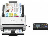 Scanner Epson DS-530N, dimensiune A4, tip sheetfed, viteza scanare: 70 ipm alb-negru si color, rezolutie