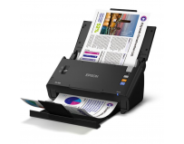 Scanner Epson DS-520N, dimensiune A4, tip sheetfed, viteza scanare: 60 ipm alb-negru si color, rezolutie
