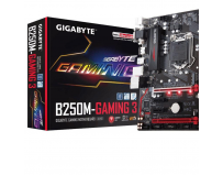 Placa de baza Gigabyte Socket LGA1151, B250M-GAMING 3, Intel B250 Express Chipset, 4*DDR4 2400/2133MHz,