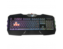 Tastatura A4Tech Bloody B254, cu fir, US layout, neagra, 4-infrared switch backlight, USB