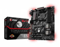 Placa de baza MSI Socket AM4, B350 TOMAHAWK, AMD B350 Chipset, 4 *DDR4 1866/ 2133/ 2400/ 2667(OC)/ 2933(OC)/