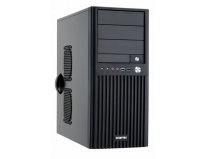 Carcasa Chieftec Mid Tower Uni BM-02B-U3 No PSU ATX/mATX vent optionale: spate 1 x 9.2cm, fata 1 x 12cm,