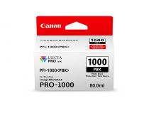 Cartus cerneala Canon PFI-1000PBK , photo black, capacitate 80ml, pentru Canon imagePROGRAF PRO-1000.
