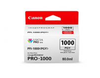 Cartus cerneala Canon PFI-1000PGY , photo grey, capacitate 80ml, pentru Canon imagePROGRAF PRO-1000.