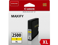 Cartus cerneala Canon PGI2500XLY, yellow, Dual Resistant High Density, capacitate 19.3ml / 1520 pagini,