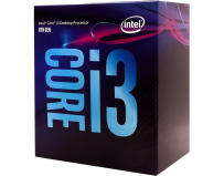 IN CPU Core i3-8100, BX80684I38100, 6M Cache, 3.60 GHz, LGA1151, 4 cores, Max Memory Size: 64 GB, Dual