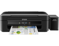 Multifunctional inkjet color CISS Epson L382, dimensiune A4 (Printare, Copiere, Scanare), printare borderless,