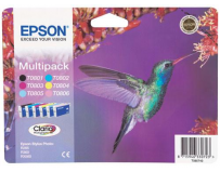 Cartus cerneala Epson T0807, multipack (cyan,magena,yellow,black,light cyan,light magenta), capacitate