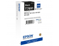 Cartus cerneala Epson T7891, black, capacitate 65ml, pentru Workforce Pro WP-5110DW, Workforce Pro WP-5190DW,