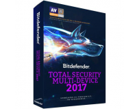 Licenta antivirus retail Bitdefender Total Security Multi-Device 2017, Nou, 1 AN - licenta valabila
