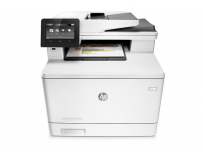 Multifunctional laser color HP Color LaserJet pro MFP M477fdn; Dimensiune A4, Viteza max 27ppm black