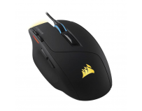 Corsair Sabre RGB Gaming Mouse, CH-9303011-EU, 100 dpi - 10000 dpi, Optical, 4 Zone RGB, 8 Programmable