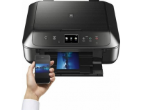 Multifunctional inkjet color Canon Pixma MG6850 Black, dimensiune A4 (Printare, Copiere, Scanare), duplex,
