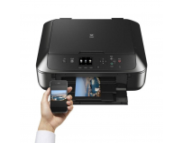 Multifunctional inkjet color Canon Pixma MG5750 Black, dimensiune A4 (Printare, Copiere, Scanare), duplex,