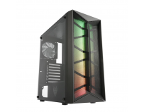 Carcasa FSP CMT 211 Mid Tower ATX Model: CMT 211 Type: ATX Mid Tower Color: Black Material: SPCC, plastic,