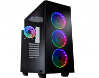 "Carcasa FSP CMT510 PLUS; Mid Tower ATX, Panel: USB3.0 x 2, Audio, Microphone, 2x 3.5"" Drive Bays, 2x"