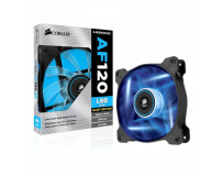 Cooler carcasa Corsair AF120 LED Blue Quiet Edition High Airflow, 120x25mm, 3pin, Twin Pack