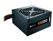 Sursa Corsair VS Series VS350, 350W, 80 Plus White, Eff. 85%, Active PFC, ATX12V v2.31, 1x120mm fan,