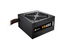 Sursa Corsair VS Series VS450, 450W, 80 Plus White, Eff. 85%, Active PFC, ATX12V v2.31, 1x120mm fan,