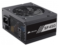 Sursa Corsair SF Series SF450, SFX 450W, full-modulara, 80 Plus Gold, Eff. 90%, Active PFC, ATX12V v2.4,