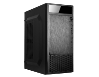 Carcasa RPC AB00UDC Type Middle Tower ATX Chassis SPCC 0.4 mm, black Mainboards mATX / ATX PSU position