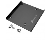 "Corsair SSD Mounting Bracket, 2.5""-3.5"" drive bays, 8 mounting screws, 100mm x 100mm x12mm"