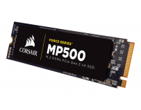SSD Corsair Force MP500, 240GB, M.2 2280 NVMe PCIe, MLC NAND, rata transfer r/w: 3,000/2,400 MB/s, IOPS