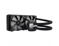 Cooler CPU Corsair H100i v2, racire cu lichid, ventilator 2x120mm, baza cupru, Socket Support: AM2,