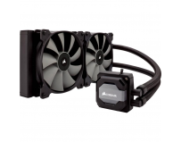 Cooler CPU Corsair H110i, racire cu lichid, ventilator 2x140mm, baza cupru, Socket Support: AM2, AM3,